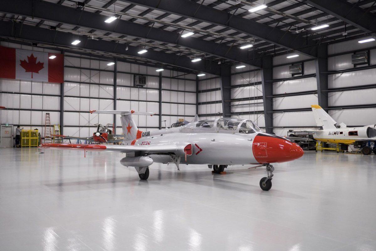 Aero Vodochody L29 aircraft