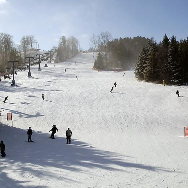 Photo of Boler Mountain Ski Hill London Ontario.