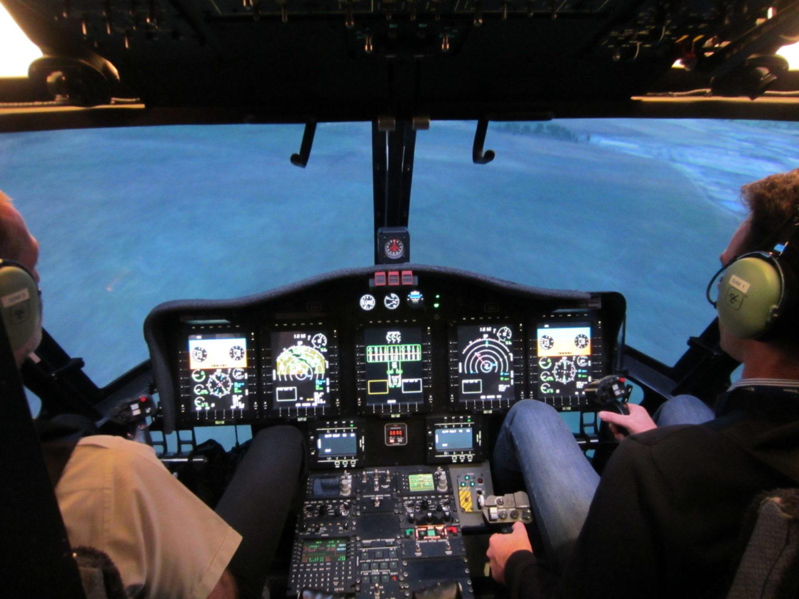 B787 Simulator at International Tactical Training Centre.