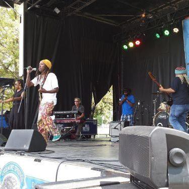 Sunfest at Victoria Park in London, Ontario.