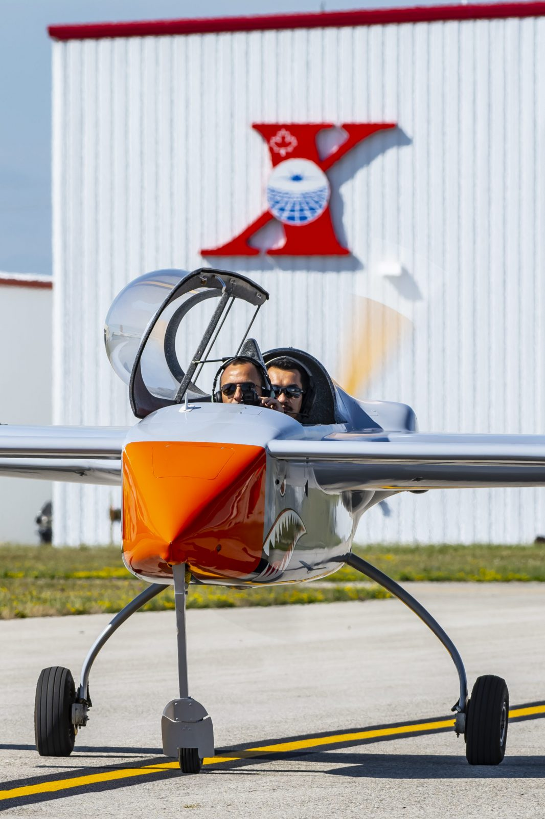 Manned remote piloted aircraft at International Test Pilots School